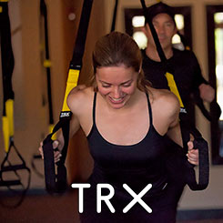 TRX Training button