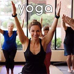 Yoga Class Series and Prices button