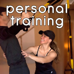 Personal Training button
